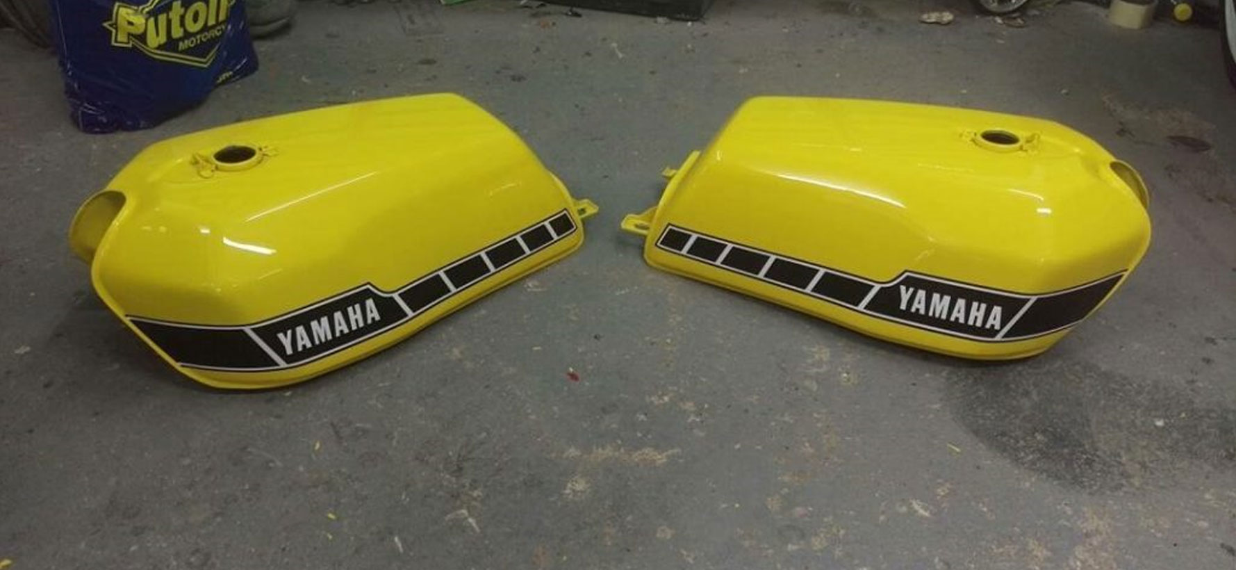 Yellow-Yamaha-Tanks